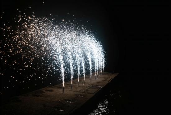 Πυροτεχνήματα Επίγεια Συντριβάνια